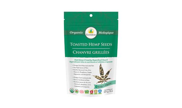 Organic Toasted Hemp Seeds -   Kelp (laminaria digitata)