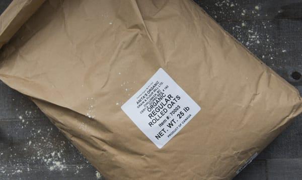 Organic Bulk Sack of Rolled Oats
