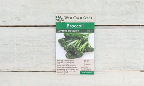 Aspabroc  Broccolini Seeds