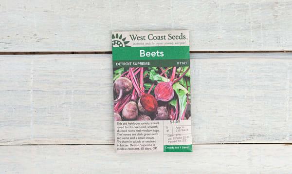 Detroit Supreme  Beet Seeds