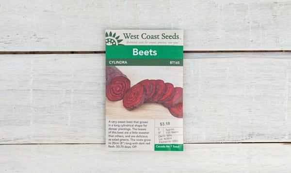 Cylindra  Beet Seeds
