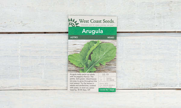 Astro Roquette  Arugula Seeds (OP)
