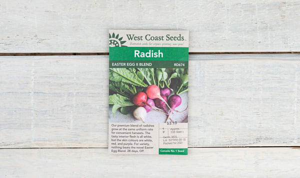 Easter Egg II  Radish Seeds