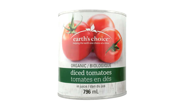 Organic Diced Tomatoes In Juice