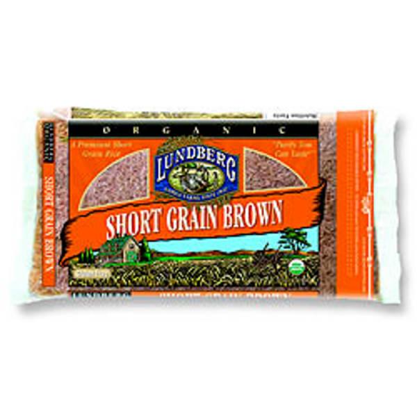 Organic Rice Short Grain Brown