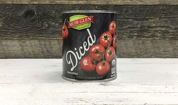 Organic Tomatoes, Diced