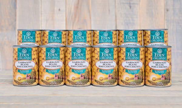 Organic Garbanzo Beans (Chickpeas) - CASE