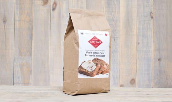 Organic Stoneground Whole Wheat Flour - Fine