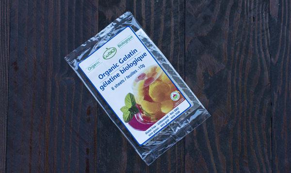 Organic Gelatin Sheets