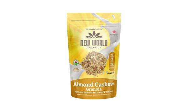 Organic Almond Cashew Granola
