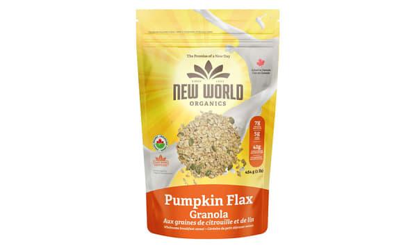 Organic Pumpkin Flax Granola