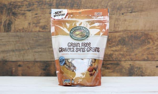 Organic Grain Free Caramel Pecan Granola