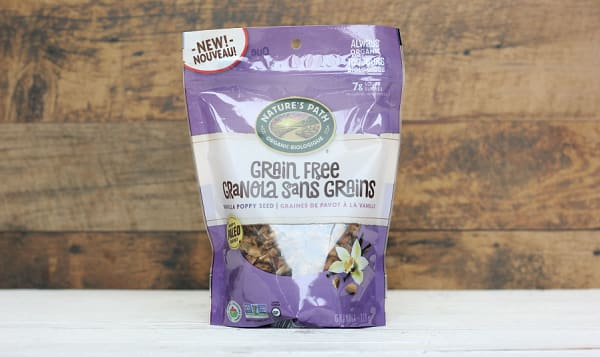 Organic Grain Free Vanilla Poppy Seed Granola