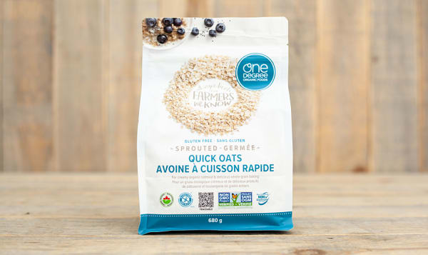 Organic Sprouted Quick Oats