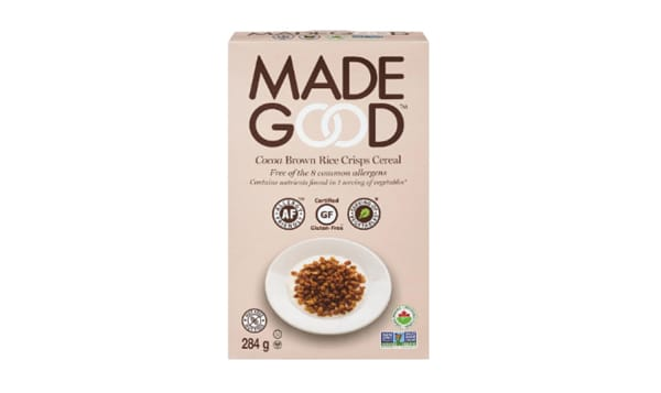 Organic Cereal - Chocolate Brown Rice