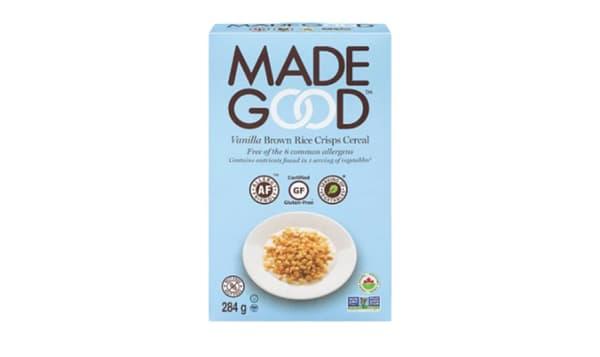 Organic Cereal - Vanilla Brown Rice