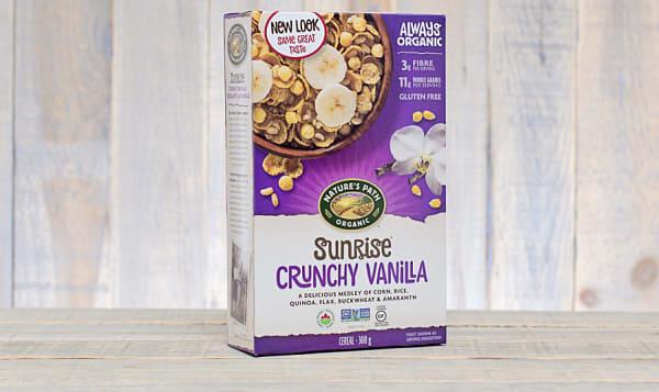 Organic Crunchy Vanilla Breakfast Cereal