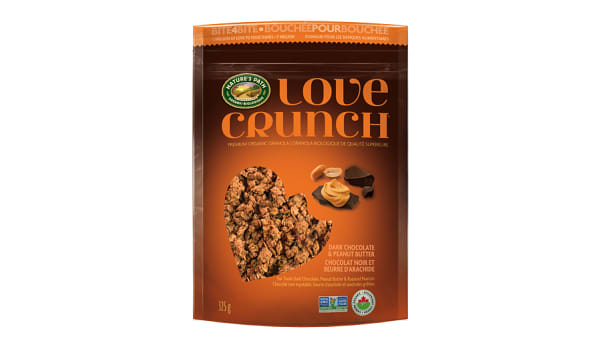 Organic Love Crunch Granola - Dark Chocolate & Peanut Butter