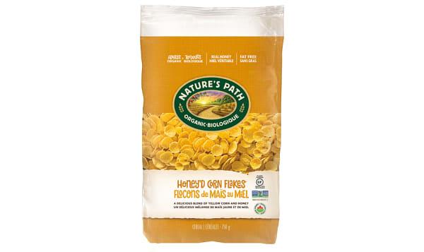 Organic Honey Corn Flakes, Eco-Pac