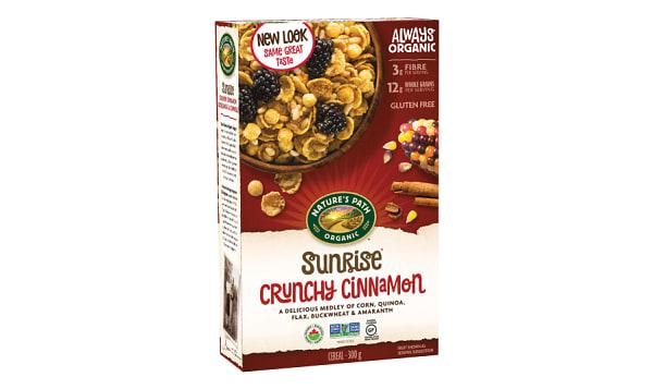 Organic Crunchy Cinnamon Breakfast Cereal