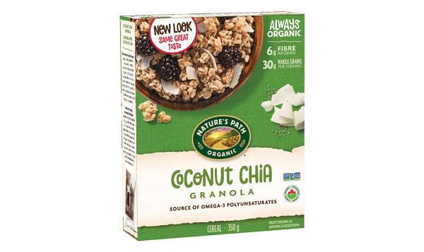 Organic Chia Coconut Granola