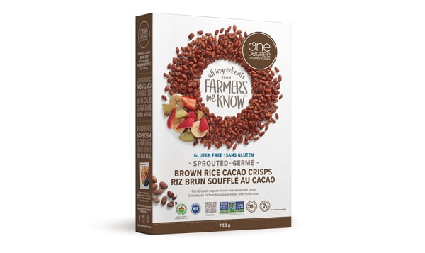 Organic Sprouted Brown Rice Cacao Crisps