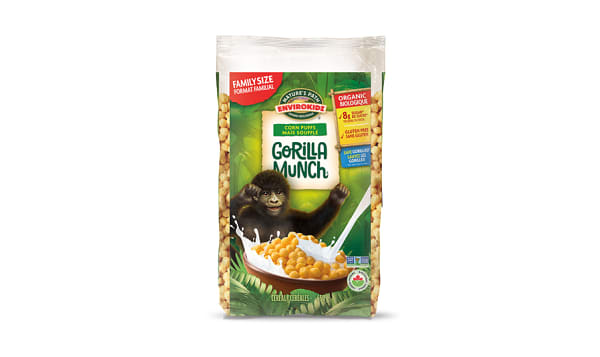 Organic Gorilla Munch Breakfast Cereal Eco-Pac