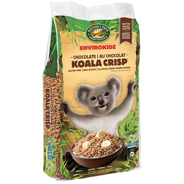 Organic Koala Krisp Cereal EnviroPak