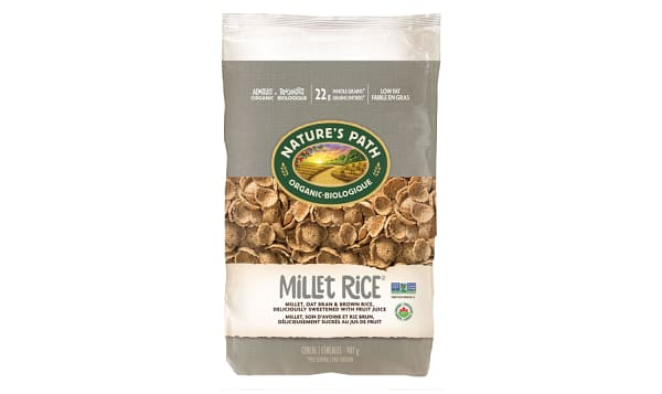 Organic Millet Rice Flakes, Eco-Pac