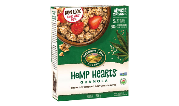Organic Hemp Plus Granola