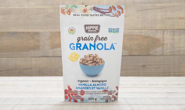 Organic Vanilla Almond Granola