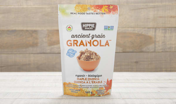 Organic Ancient Grain Maple Quinoa Granola