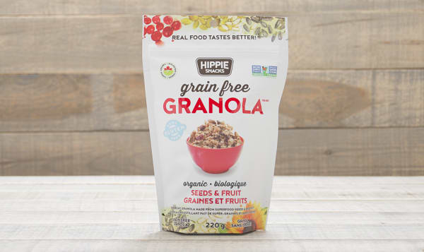 Organic Seeds & Fruit Granola