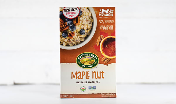 Organic Maple Nut Oatmeal