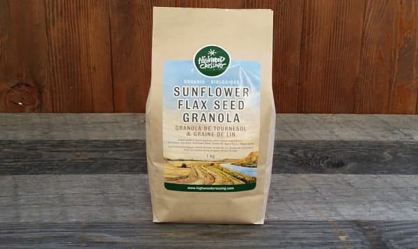 Organic Sunflower Flax Seed Granola