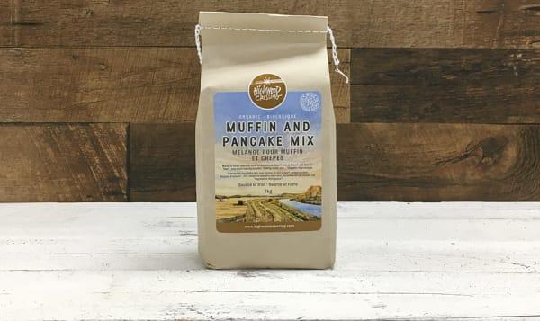 Organic Muffin or Pancake Mix, Flax Seed