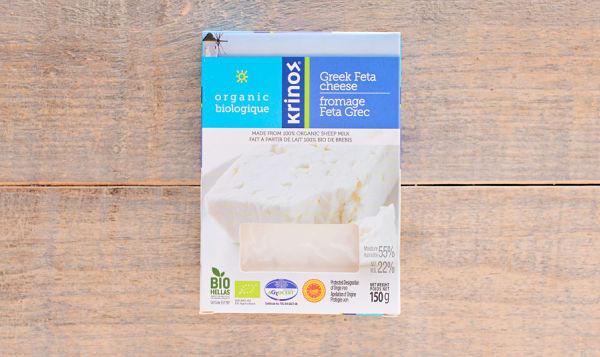 Organic Sheep Milk Feta Cheese