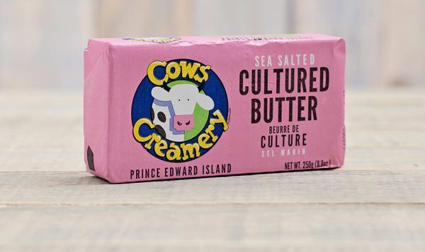 Cultured Sea Salted PEI Butter (84% Butter Fat)