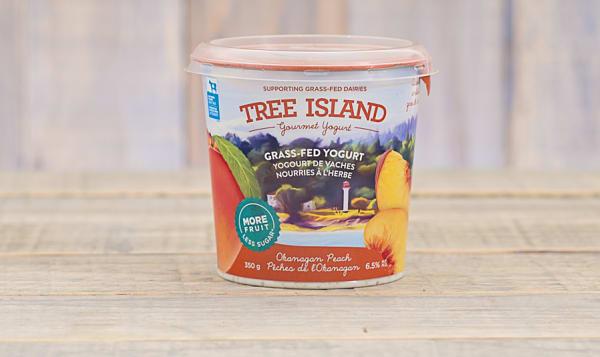 Organic Okanagan Peach Yogurt