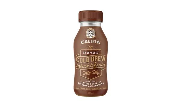 XX Espresso Cold Brew Coffee with Almond Milk