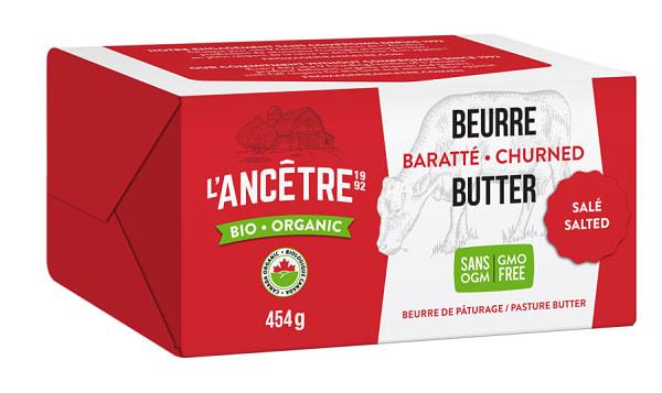 Organic Butter, Salted