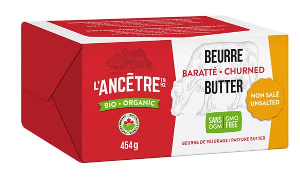 Organic Butter, Unsalted