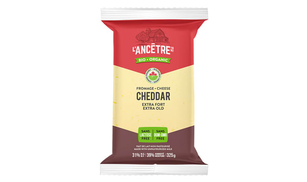 Organic Raw Milk Extra Sharp Cheddar