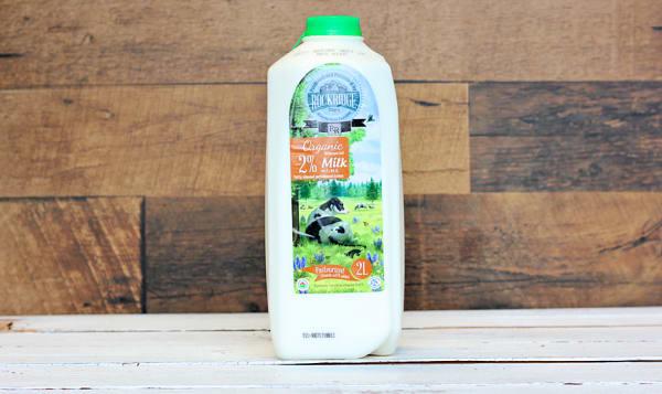 Organic 2% Jersey Cow Milk