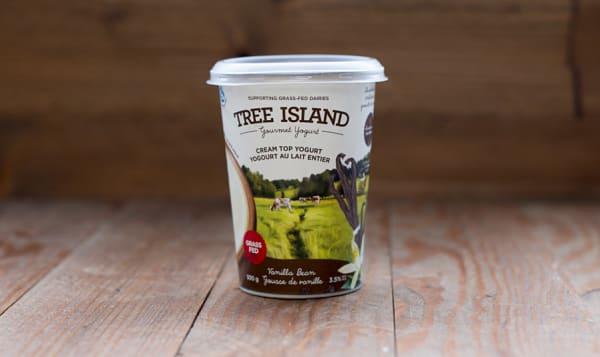 Vanilla Bean Cream Top Non-Homogenized, Grass Fed Yogurt - 3.5% MF