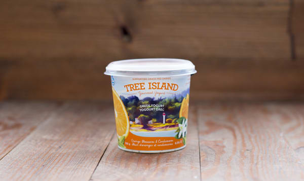 Orange Blossom & Cardamom Non-Homogenized, Grass Fed Greek Yogurt - 6.5% MF
