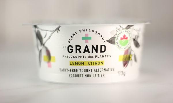 Organic Vegan Yogurt - Lemon