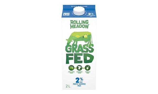 2%  Grass Fed Milk