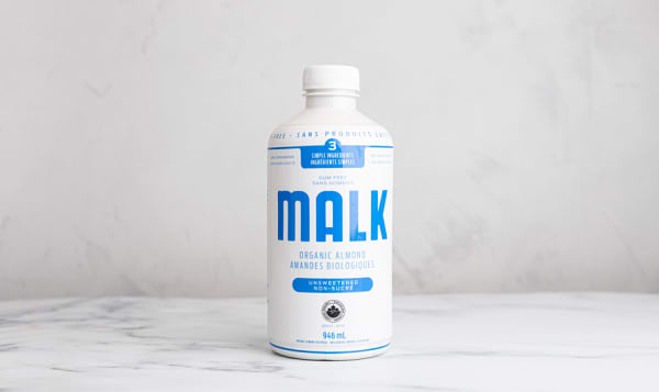 Organic Unsweetened Almond Malk