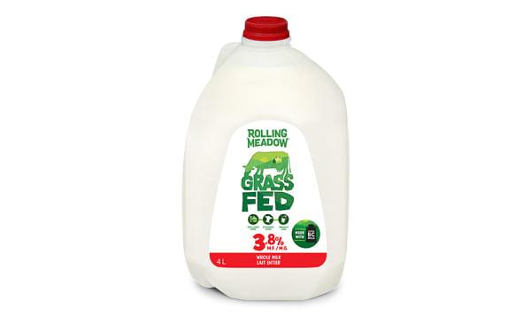 Grass Fed 3.8% Whole Milk